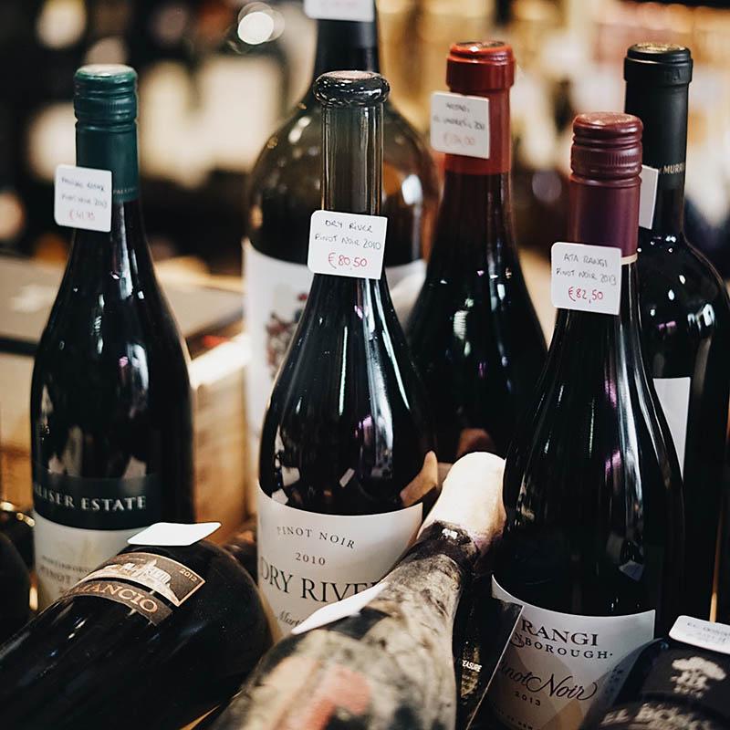 découverte des grands vins-rouges
