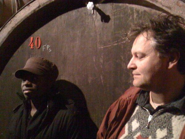 Une Nenette du vin dans le vignoble 3